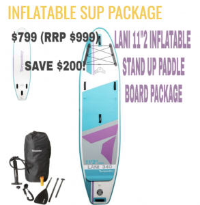 XMAS INFLATABLE SUP PACKAGE + SUMMER SEASON SUP PASS