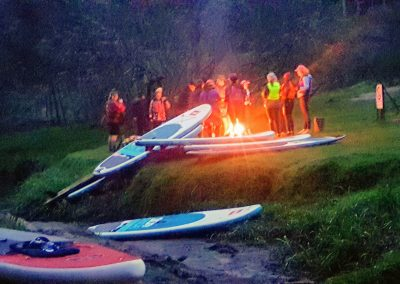 Paddle with Glow Worms