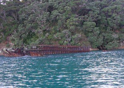 Kawau Island Shipwreck - today