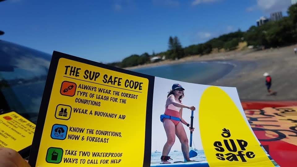 THE SUP SAFE CODE!